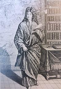 XVII wieczny szlafrok męski